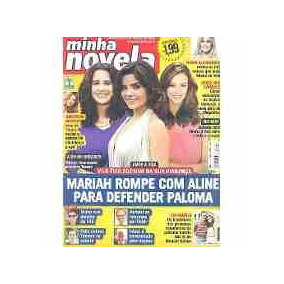 Revsta Minha Novela Nº 741 - Mariah Rompe Com Aline ...