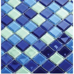Pastilha De Vidro Cristal Mix - La Bella Griffe- Azul