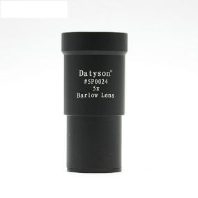 Ocular Lente Barlow 5x Padrão 1,25 Telescópio Longo Alcance
