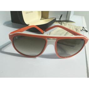 Lentes Louis Vuitton Aviator Naranjas 100% Originales Fascin