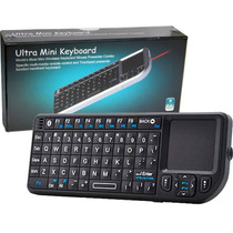 Mini Teclado Bluetoth Touch Pad Y Laser Ideal Android Tv