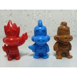 Dino Danoninho - Lote C/ 3 Miniaturas