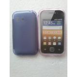 Capa De Silicone P/ Samsung Galaxy Y Tv S5367/s5368