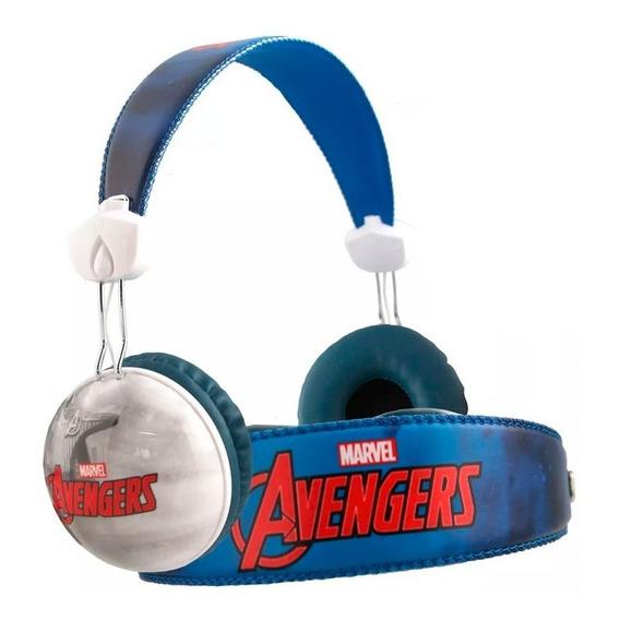 Auriculares Avengers Endgame Disney Marvel Ni?o + Stickers