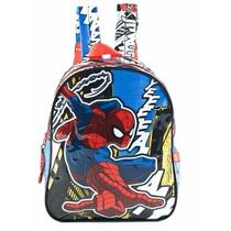 Mochila Spiderman Hombre Araña 12 Pulgadas 82050 Original!!