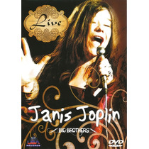 Dvd - Janis Joplin Big Brothers