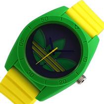 Adidas Santiago De Silicone Brasil Relógio Pulseira Adh2949