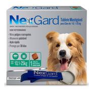 Antipulgas E Carrapatos Para Cães Nexgard 10,1 A 25kg  Com 1