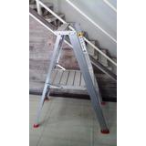 Escalera De Aluminio Plataforma Taurus A011