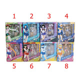 Sailor Moon Lote 8 Personajes Sh Figuarts Nuevas Selladas