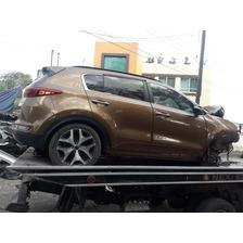Kia Sportage 2017 Chocado. Auto Partes. Refacciones. Yonke