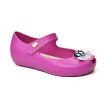 Peep Toe Infantil Confeti World Colors 017043-1149 - Rosa