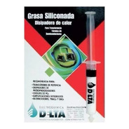 Grasa Siliconada Delta Disipadora De Calor Jeringa 10cc