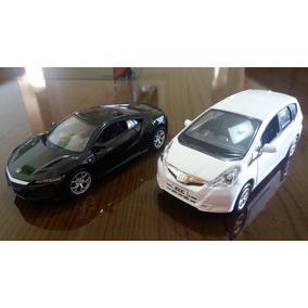 Miniaturas Honda Fit E Nsx