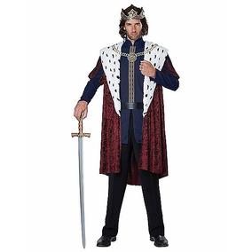 Disfraz Rey Traje Principe Adulto Hombre Halloween