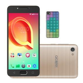 Smartphone Alcatel A5 Max Led Edition Dourado Octa-core 32gb