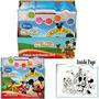 Juguete Casa De Mickey Mouse Agua Paint Set - Libro De La H