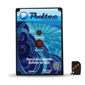 Modulo Comando Pooltec Rgb Com Controle Remoto Para 500 Leds