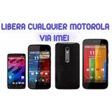 Liberar / Desbloquear Motorola Android Via Imei