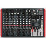 Consola Potenciada Novik Nvk-1200pusb 12 Canales 2 X 600w