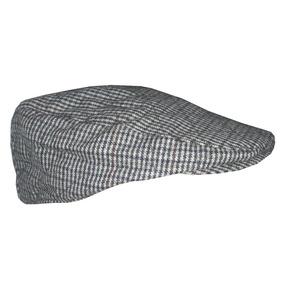 Boina Clásica Zara Men Hombre Tweed Paño Cuadrille