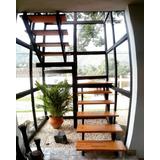 Escalera En Madera - Somos Fabricantes