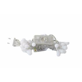 Pisca 20 Lâmpadas Led Luz Branco Fio Transparente Interrupto
