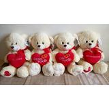 Urso Amor Coração C/ Frase M