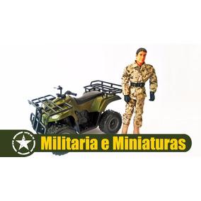 Quadriciclo Militar 1/6(bonecos De 30cm ) - Power Team Elite