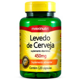 Levedo De Cerveja 450mg - Maxinutri - 120 Cápsulas