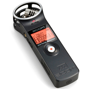 Gravador Digital Zoom H1 V2 Recorder Cartão 2gb