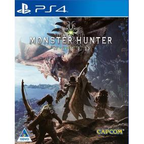 Monster Hunter World Ps4 Digital