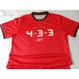 Camisa Comemorativa Do Spfc 4-3-3-tam.m Rbk.como Nova