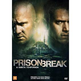 Prison Break 5ª Temporada Dublado Legendado + Frete Grátis !