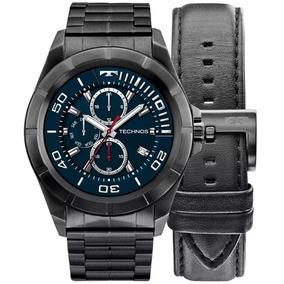1783f9fc12193 Relogio Technos Touch Preto - Relógios no Mercado Livre Brasil