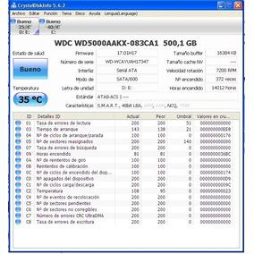 Disco Duro De 500 Gb 3.5 Pc Sata Western Digital Blue