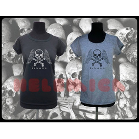 Remeras Ouija Pentagram Skull Bones Merlina Terror Diseño