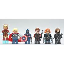 Kit Soldado Invernal, Gavião Arqueiro, Viúva Negra, Iron Man