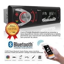 Aparelho Som Aquarius 4 Rodas 6609 Usb Mp3 Fm Bluetooth Cor
