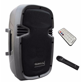 Bocina Amplificada Bluetooth Power & Co Xp-8000bk 3200w/pmpo