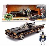 Auto Batimovil Colección 1/24 Serie 1966 Con Batman Y Robin