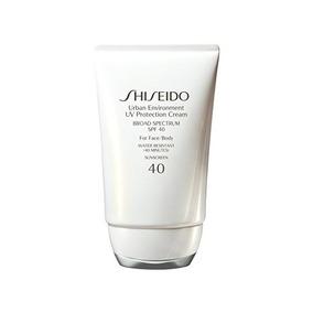 Protección Uv Shiseido Medio Ambiente Urbano Crema De Amplio