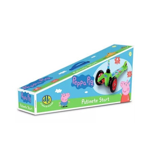 Patinete Peppa Pig Start Com 3 Rodas Dtc - 4773