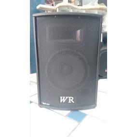 Caixa Amplificada Wr Ativa 12 Box 2550 180wrms Bluetooth Nf