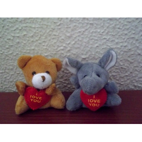 Lote Com 2 Chaveiros - Urso E Elefante - Fala E Acende!