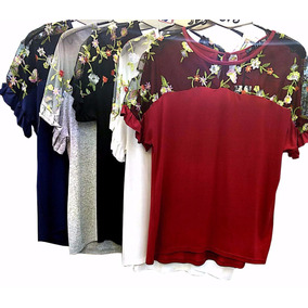Blusas Femininas Roupas Moda Kit 6 Peças Atacado 2764