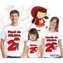 Lembrança De Aniversario Chapeuzinho Vermelho Camiseta Com 3