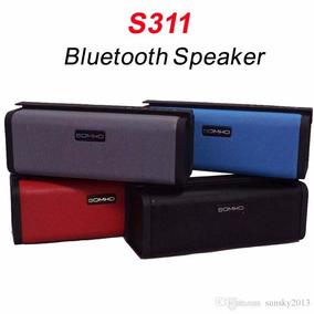 Caixa De Som Speaker S-311 Super Bass Tf, Fm, Bluetooth
