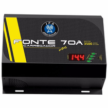 Fonte Automotiva Jfa Turbo 70a 14.4v Bivolt Display Digital