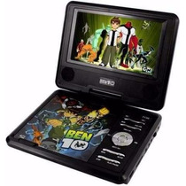 Dvd Portátil Disney Ben 10, 7 , Tv - Pdt-7130 - Bateria Reca